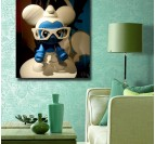 Smurf Decorative Art Print