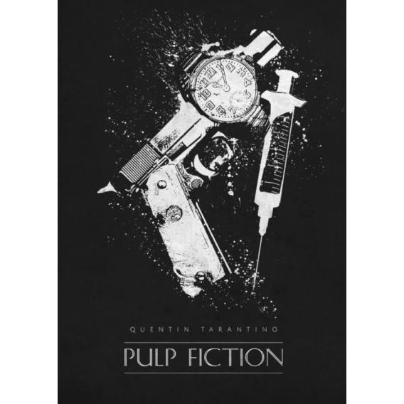 Pulp Fiction Wall Poster