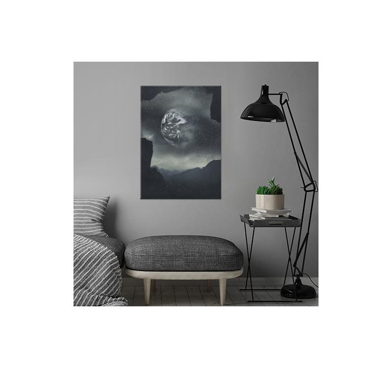 poster noir et blanc stellaire artwall and co. Black Bedroom Furniture Sets. Home Design Ideas