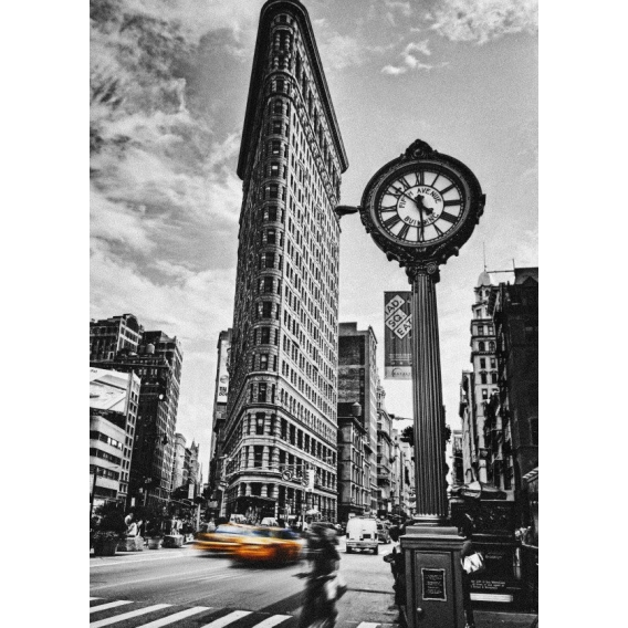 The Flatiron building Metal Poster