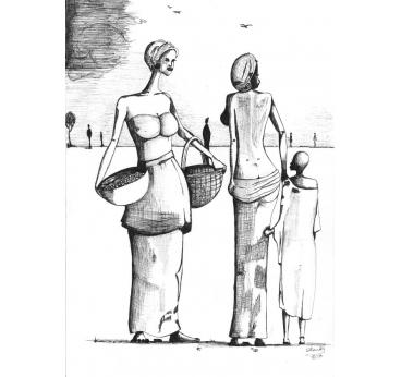 The village ladies