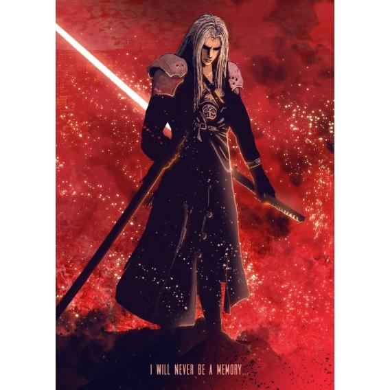 Fantasy Metal Wall Poster