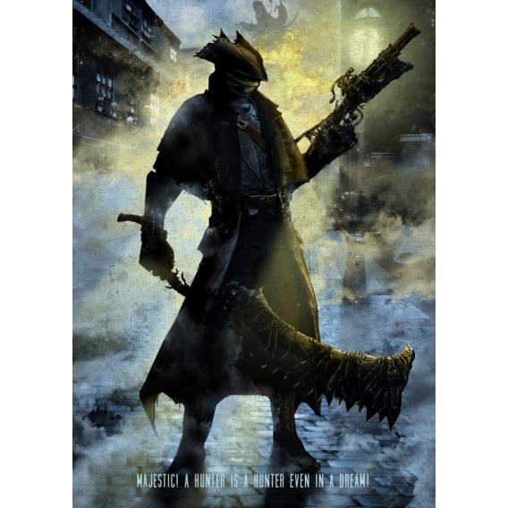 Bloodborn Game Metal Poster