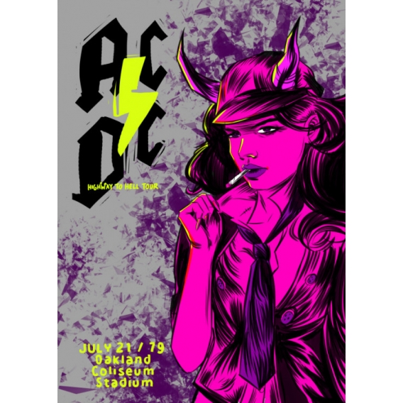 Affiche Metal Collector AC/DC