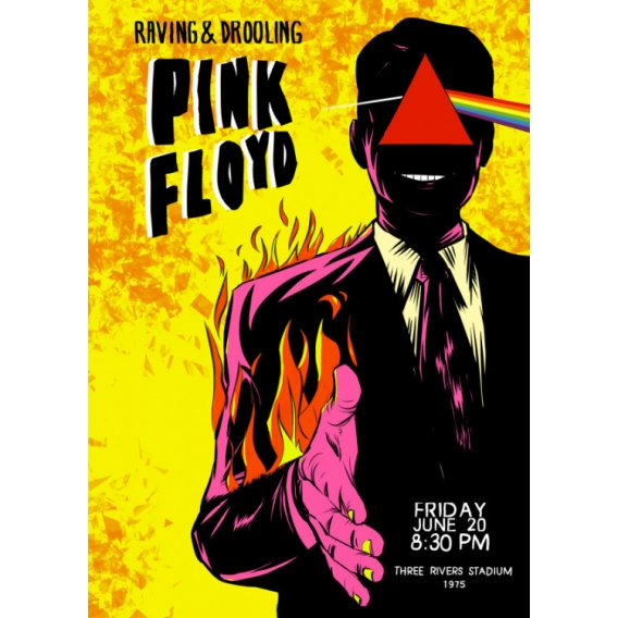 Pink Floyd Metal Poster - ArtWall and Co