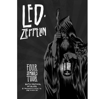 Poster Rock Led Zeppelin