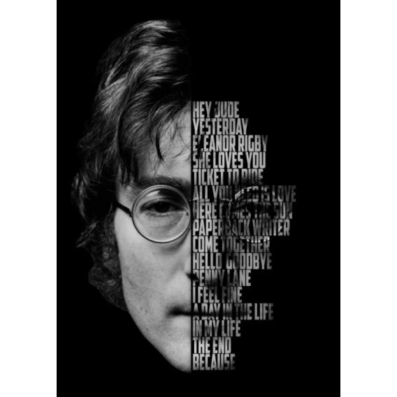 John Lennon Legend Poster