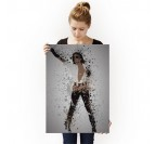 Poster Personnage Michael Jackson