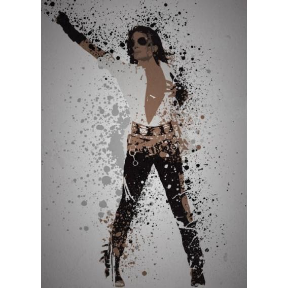Poster Metal Michael Jackson
