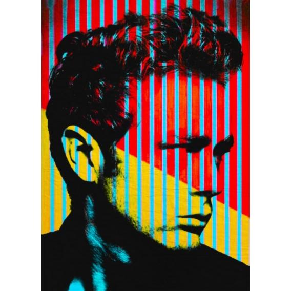 Poster Métal James Dean