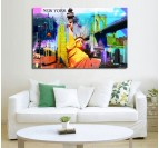 New-York Pop Art Modern Art Print