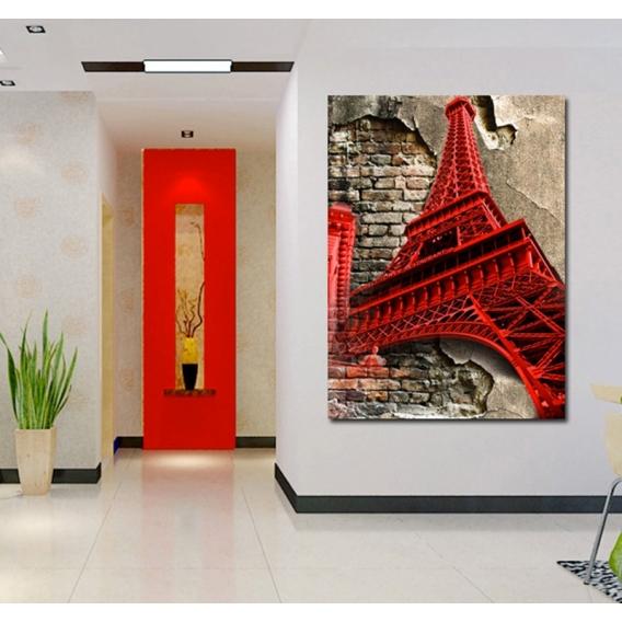 Eiffel Tower Modern Canvas