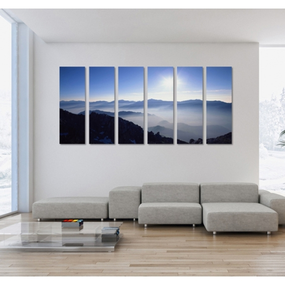 Himalaya Nature Art Print