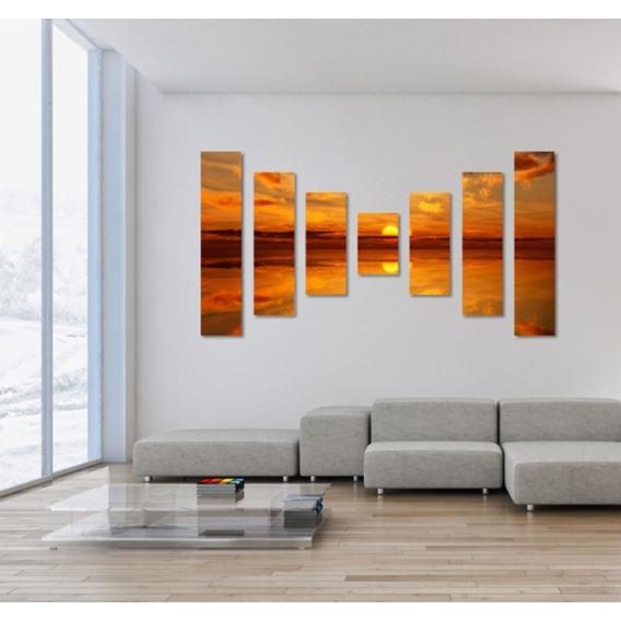 Tableau Moderne Sky Sunset