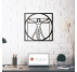 Vitruvian Man Metal Wall Decoration
