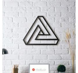 Decoration Metal Triangle Illusion