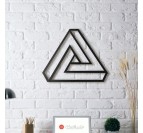 Illusion Triangle metal Decoration