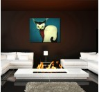 Kitty Decorative Art Print