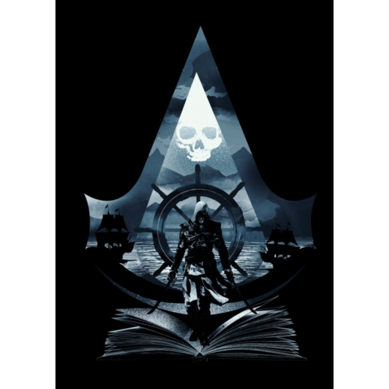 Affiche Métal Assassin's Creed