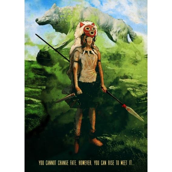 Mononoke Nature Metal Poster