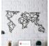 Déco Métal Carte du Monde