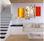 African Dance canvas painting