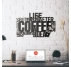 Coffee Metal Wall Decoration