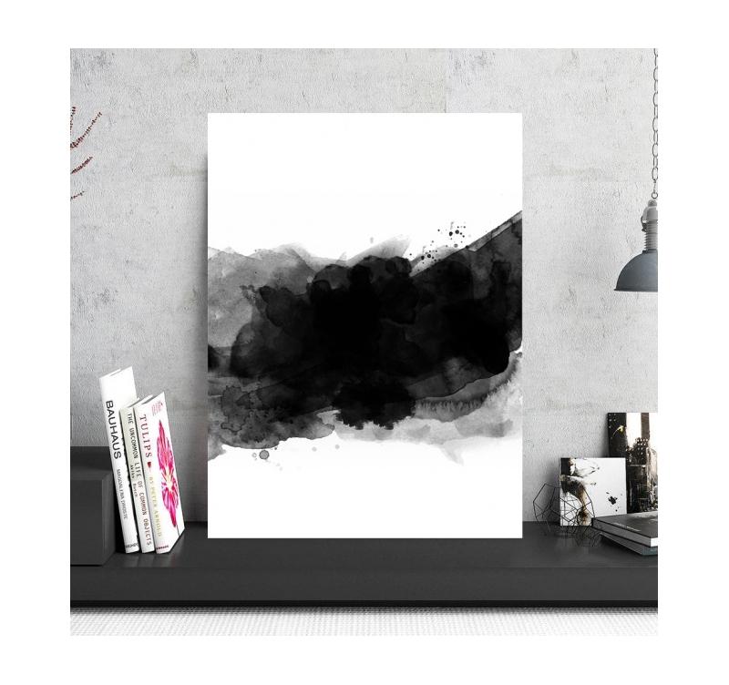 Abstract Aluminium Framed Art - ArtWall and Co
