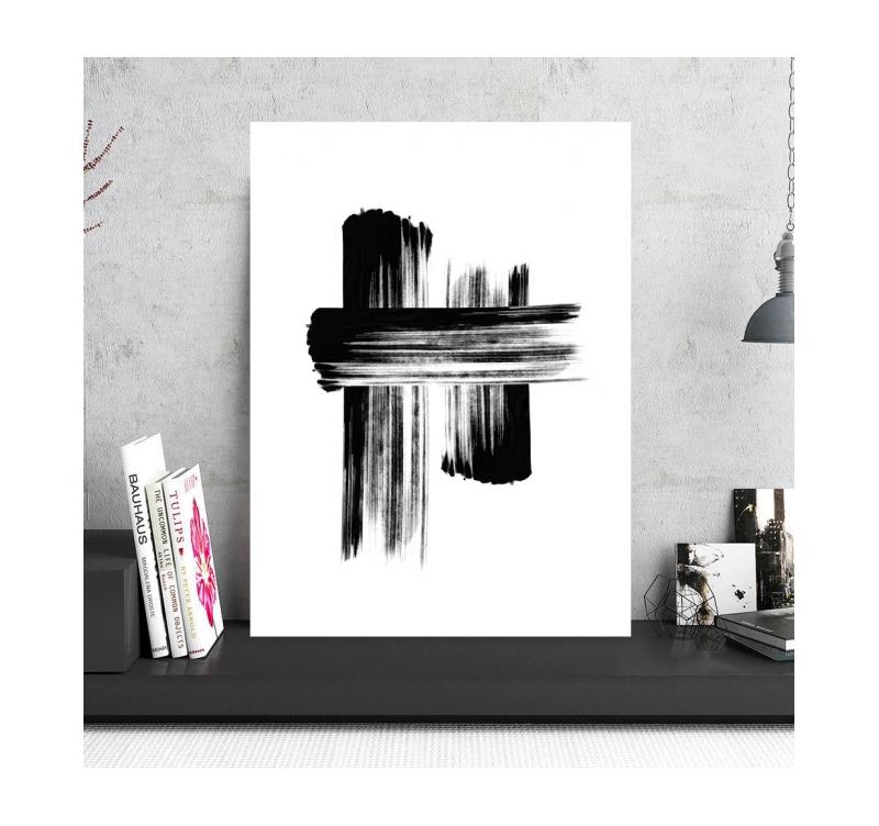 Photo D Art Abstraite Minimaliste Artwall And Co