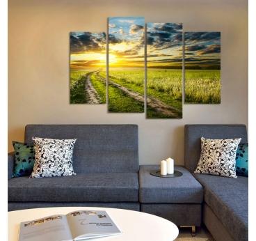Multiple design canvas fields of light