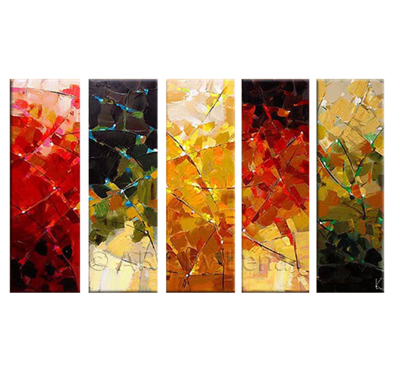 Peinture abstraite moderne four seasons for Peinture abstraite moderne