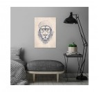 Coo Lion Metal Wall Poster