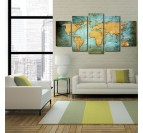 World Map XXL Canvas Print