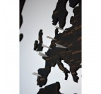 Pins métalliques pour notre carte du monde murale en bois
