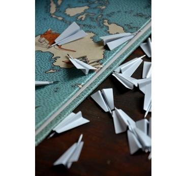 Pins Metal Avion Papier
