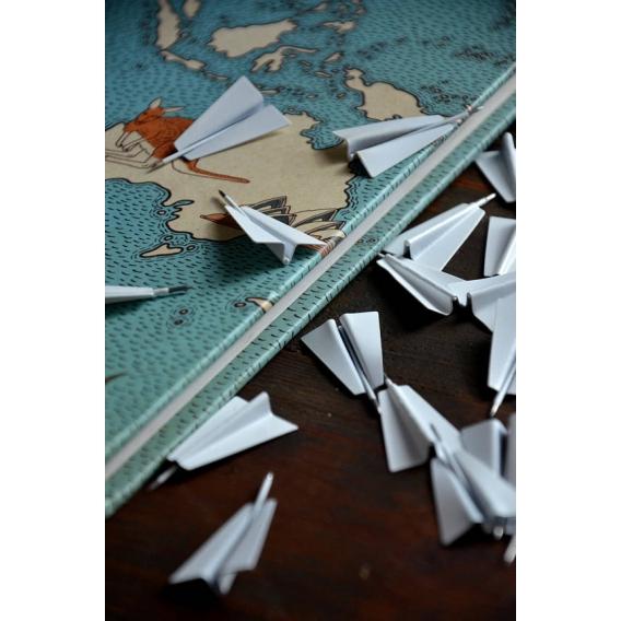 Metal Pins Plane