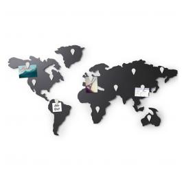 Magnetic World Map Decoration