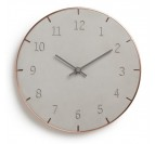 Piatto Copper Wall Clock