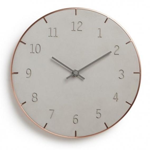 Piatto Copper Wall Clock