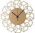 Horloge Murale Bois CubeFlower