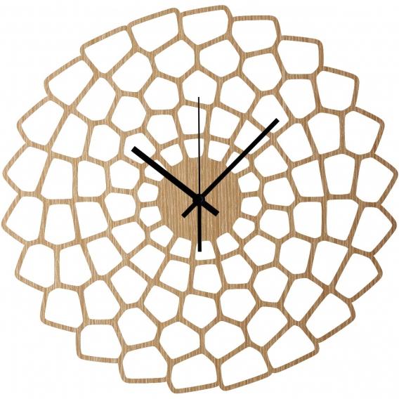 Diagram Wood Wall Clock