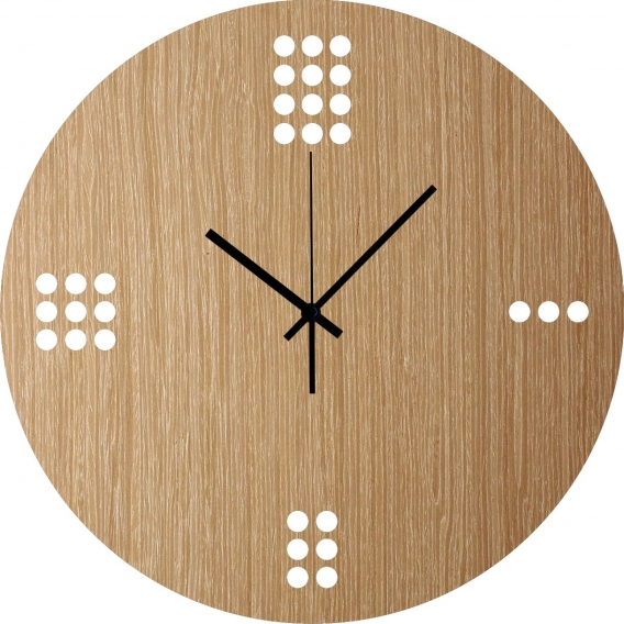 Horloge Murale Bois Minimaliste