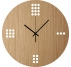 Minimalist Wooden Wall Clock