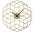 Hexaflower Wood Wall Clock