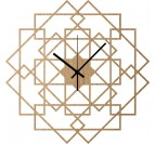 Horloge Murale Bois Square