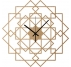 Square Wood Wall Clock