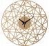 Polygonal Wood Wall Clock