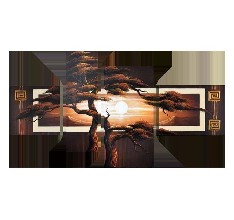 tableau oriental tree of life. Black Bedroom Furniture Sets. Home Design Ideas