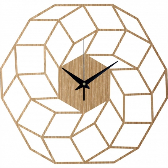 Dreamcatcher Wood Wall Clock