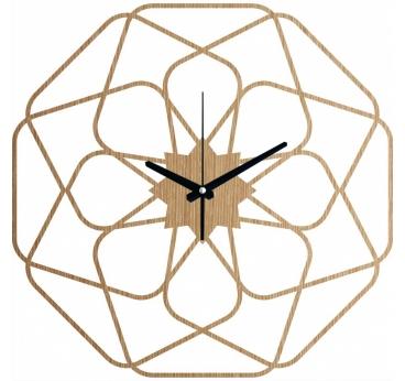 Horloge Murale bois Star